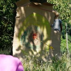 Zielscheibe fürs Bogenschießen